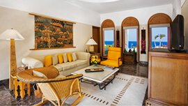 In-Room Facilities Include 24 Hour Dining in The Rooms & Suites at The Oberoi, Sahl Hasheesh