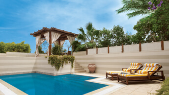 Upgrade for an Extraordinary Royal Experience - The Royal Suite with Private Pool at The Oberoi, Sahl Hasheesh