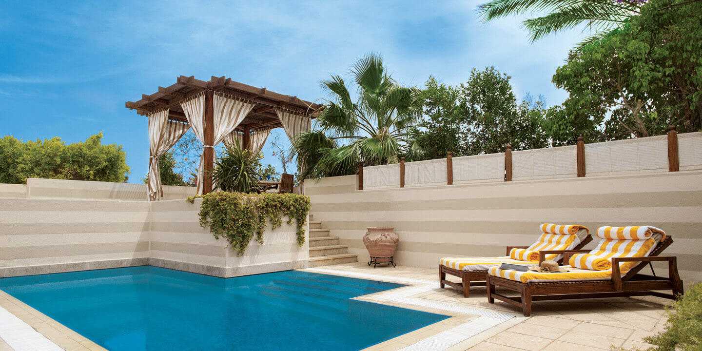 Private Swimming Pool of The Royal Suites - The Oberoi, Sahl Hasheesh