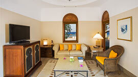 Superior Deluxe Suites Are Situated on The Beach Front Overlooking Red Sea at The Oberoi, Sahl Hasheesh
