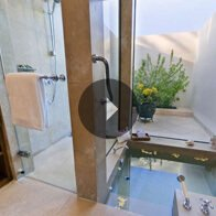 Take a 360° View of The Deluxe Suite Bathroom - The Oberoi, Sahl Hasheesh