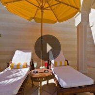 Take a 360° View of The Deluxe Suite Courtyard - The Oberoi, Sahl Hasheesh