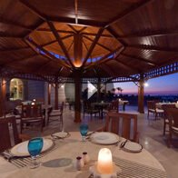 Take a 360° View of The Pergola Poolside Dining Space With Mediterranean & Far East Cuisine at The Oberoi, Sahl Hasheesh