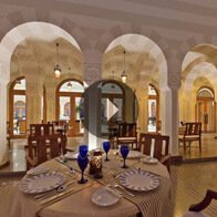 Take a 360° View of The Courtyard Restaurant at The Oberoi, Sahl Haseesh