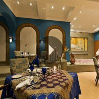 Take a 360° View of The Zaafran - Indian Fine Cuisine Restaurant  at The Oberoi, Sahl Hasheesh