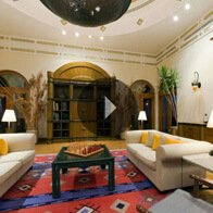 Take a 360° View of The Libray at The Oberoi, Sahl Hasheesh