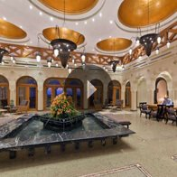 Take a 360° View of The Lobby, The Oberoi, Sahl Hasheesh