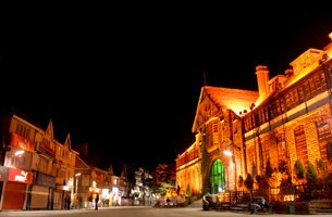 The Mall Also Known As Mall Road For a Shopping Experience,  Weekend Getaways - The Oberoi Cecil, Shimla