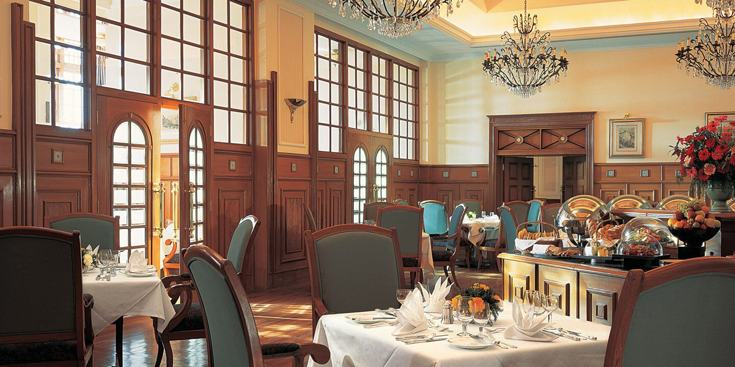 The Restaurant - International, Pan-Indian & Local Himachali Dishes - The Oberoi Cecil, Shimla