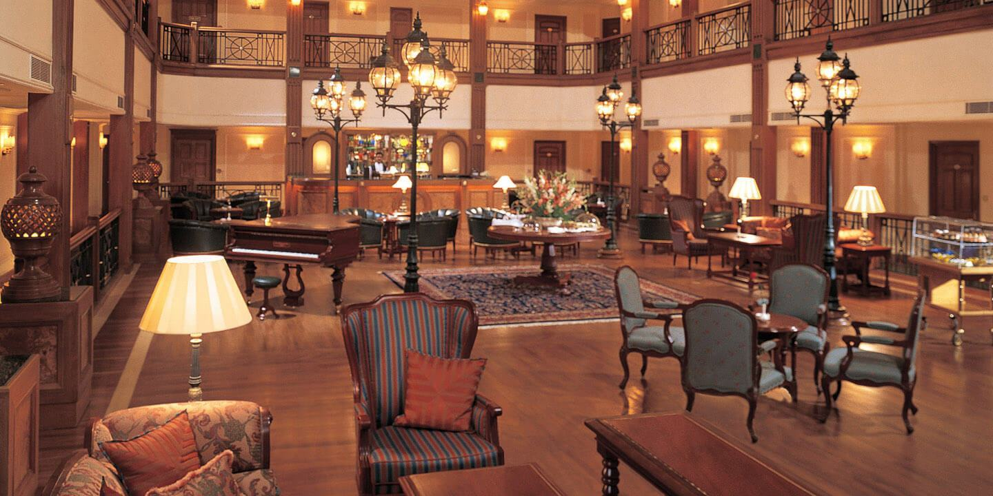 The Lounge & Bar for Tea, Coffee, A Classic Martini or Light Snack at Any Time of Day at The Oberoi Cecil, Shimla