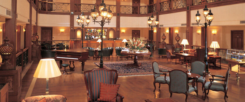 The Lounge & Bar for Tea, Coffee, A Classic Martini or Light Snack at Any Time of Day - The Oberoi Cecil, Shimla