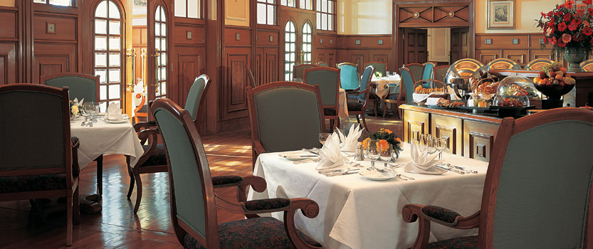 The Restaurant For International, Pan-Indian & Local Himachali Dishes - The Oberoi Cecil, Shimla