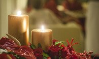 Dinner by Candlelight - Romantic, Candlelit Four Course Dinner at The Oberoi Cecil, Shimla