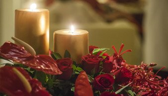 Dinner by Candlelight - Romantic, Candlelit Four Course Dinner - Dining Special at The Oberoi Cecil, Shimla
