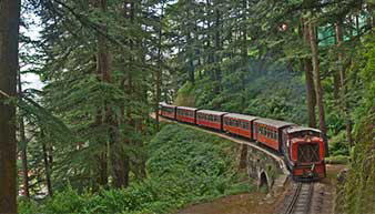 Experience The Toy Train Ride in Shimla - The Oberoi Cecil, Shimla