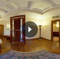 Take a 360° View of The The Luxury Suite Living Room at The Oberoi Cecil, Shimla