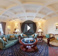 Take a 360° View of The The Luxury Suite Bedroom at The Oberoi Cecil, Shimla