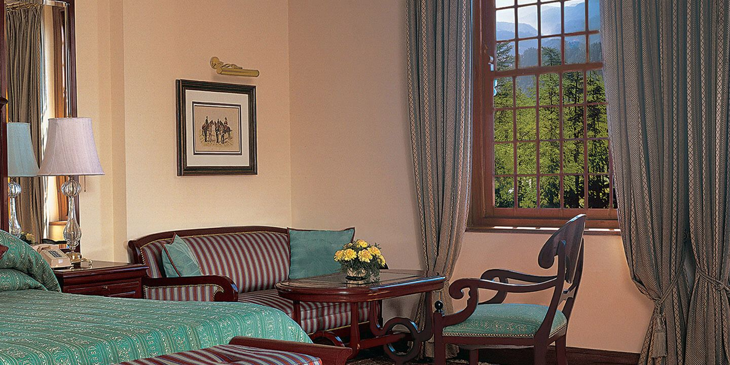 Cedar Garden View Deluxe Rooms at The Oberoi Cecil, Shimla