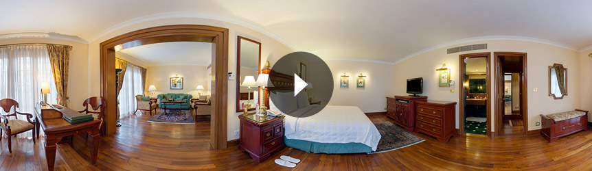 Take a 360° View of The Deluxe Room at The Oberoi Cecil, Shimla