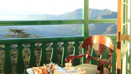 Magnificent Views of the Shimla Valley - Luxury Rooms at The Oberoi Cecil, Shimla