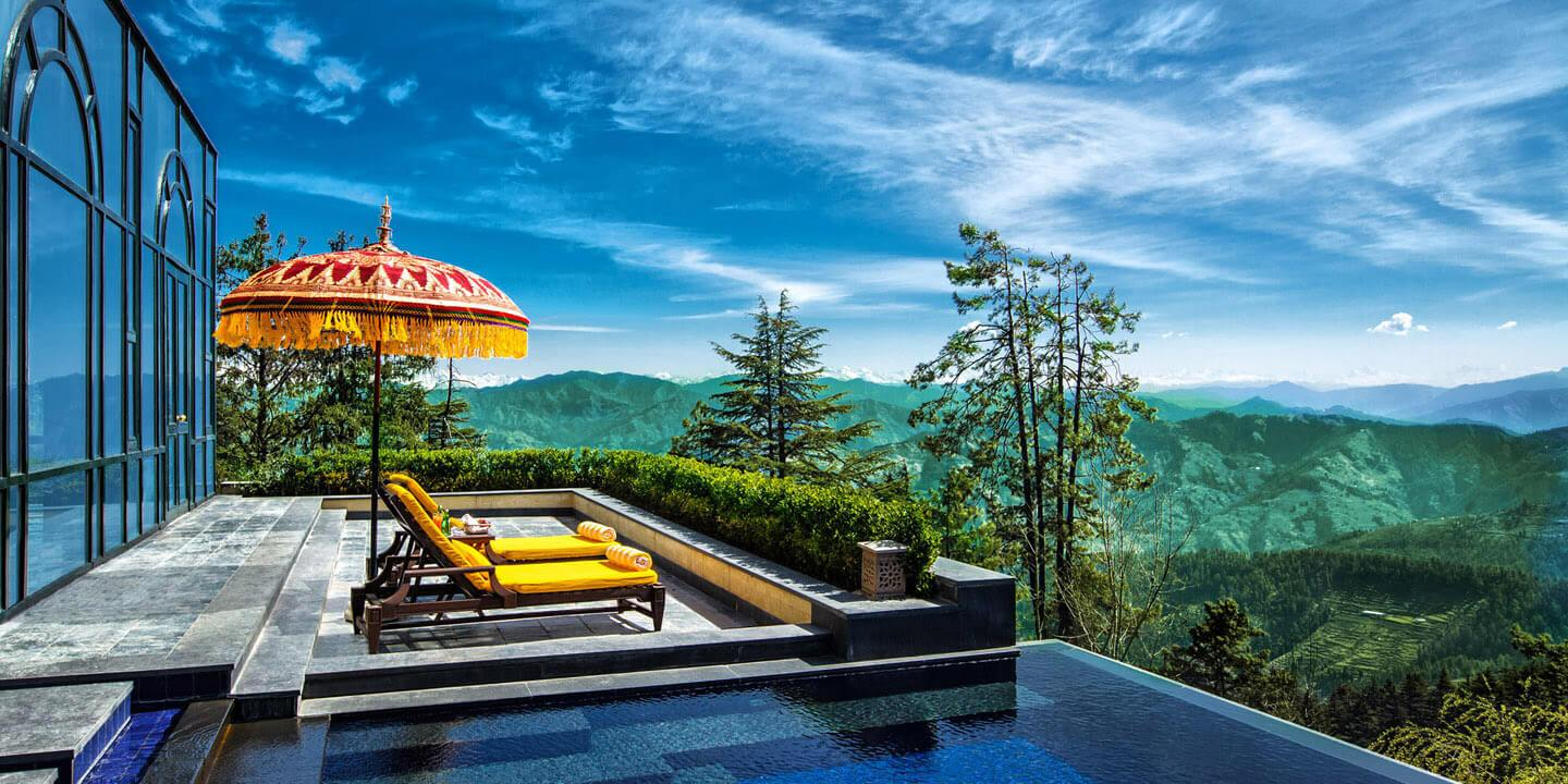 Luxury Hotels in Shimla - Wildflower Hall, Shimla in The Himalayas