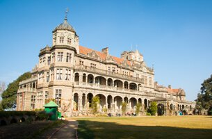 The Viceregal Lodge in Scottish Baronial Architecture  - Weekend Getaways in Shimla