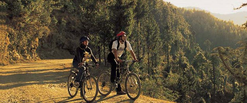 Experience Mountain Cycling & Rafting in The Rolling Rapids Of Sutlej River in Shimla