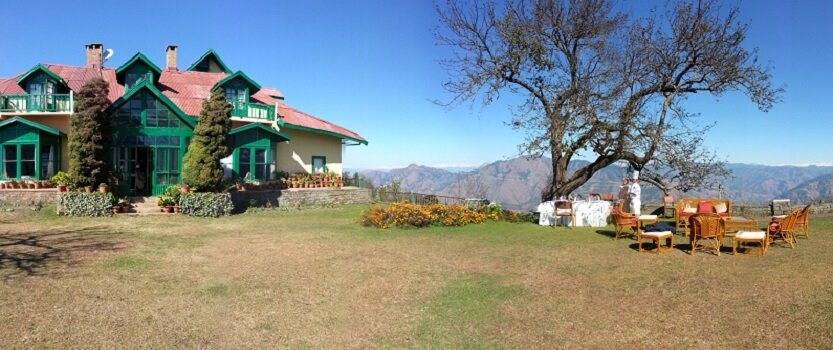 Experience a Picnic At The Peak, The Colonial Bungalow on a Hilltop in Shimla