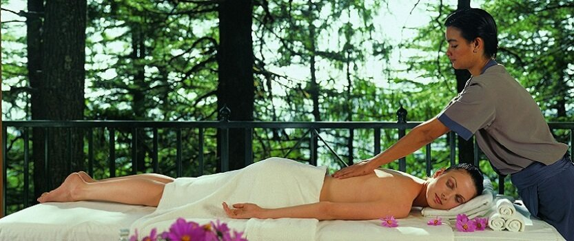 Rejuvenating spa ritual for couples at Wildflower Hall, Shimla in The Himalayas