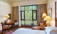 Views of Lawns & Gardens - Deluxe Garden View Rooms at Wildflower Hall, Shimla in The Himalayas