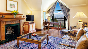 Deluxe Suites With a Colonial Ambience at Wildflower Hall, Shimla in The Himalayas