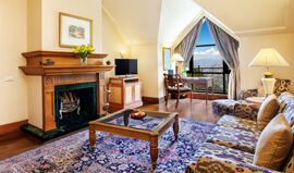 Deluxe Suite With a Colonial Ambience at Wildflower Hall, Shimla in The Himalayas
