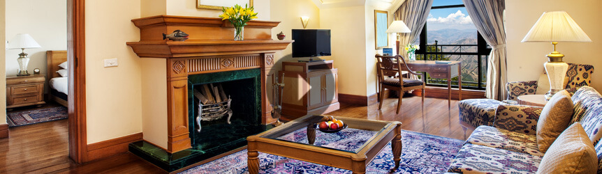 Take a View of The Deluxe Suite - Wildflower Hall, Shimla in The Himalayas