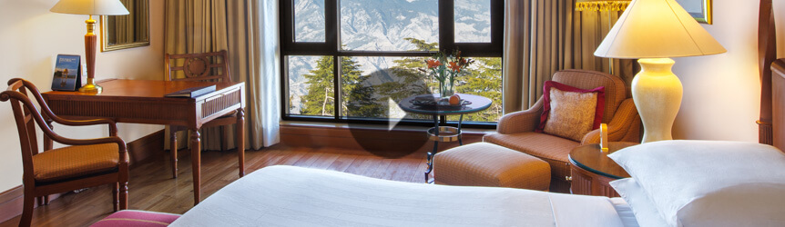 Take a View of Premier Mountain View Rooms at Wildflower Hall, Shimla in The Himalayas