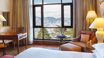 Premier Mountain View Rooms - Wildflower Hall, Shimla in The Himalayas
