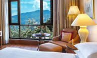Views of The Valley - Premier Valley View Rooms at Wildflower Hall, Shimla in The Himalayas