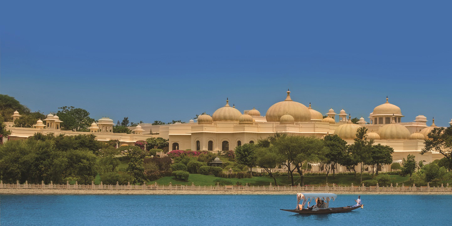 Lake Pichola in Udaipur - The Oberoi Udaivilas