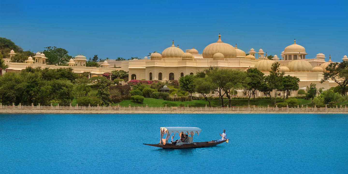 Shikara Ride in The Traditional boat on Lake Pichola, Udaipur - The Oberoi Udaivilas