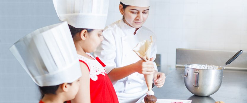Junior Chef, Baking Classes at The Oberoi Udaivilas, Udaipur