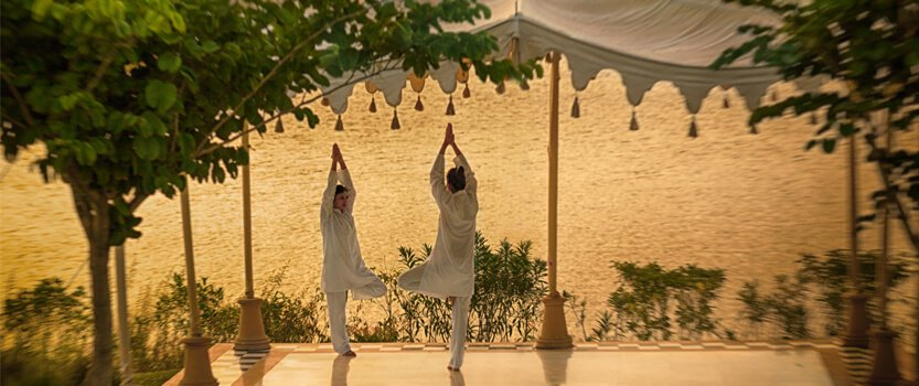 Learn The Ancient Healing Power of Yoga in a Private Session - The Oberoi Udaivilas, Udaipur