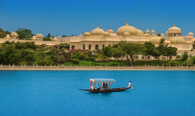 Shikara, The Traditional boat Ride on Lake Pichola in Udaipur - The Oberoi Udaivilas