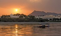 Sunset Boat Ride on Lake Pichola in Udaipur - The Oberoi Udaivilas