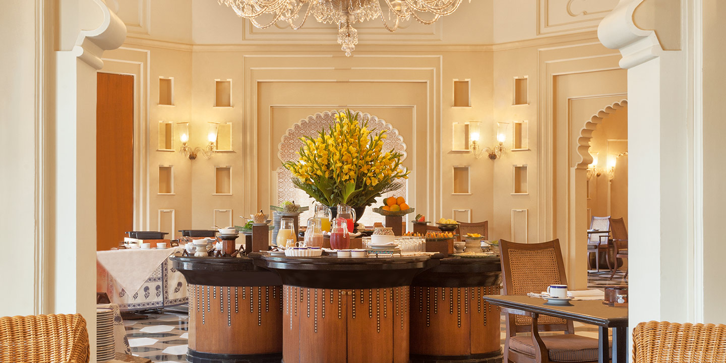The Bar in The Oberoi Udaivilas, Udaipur - Dine & Wine Facilities