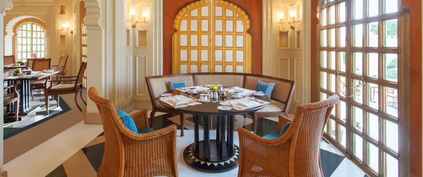 Suryamahal, Day Time Dining Restaurant in Udaipur at The Oberoi Udaivilas