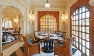 Suryamahal, Day Time Dining Restaurant in Udaipur - The Oberoi Udaivilas
