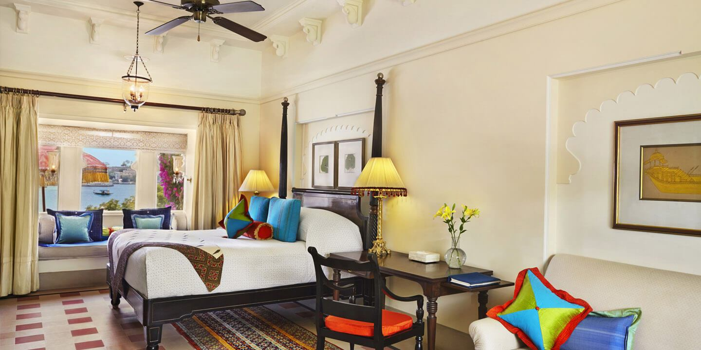 Premier Room With Semi Private Pool - The Oberoi Udaivilas, Udaipur