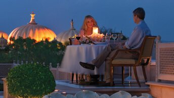 Dine Under the Stars at The Oberoi Udaivilas, Udaipur