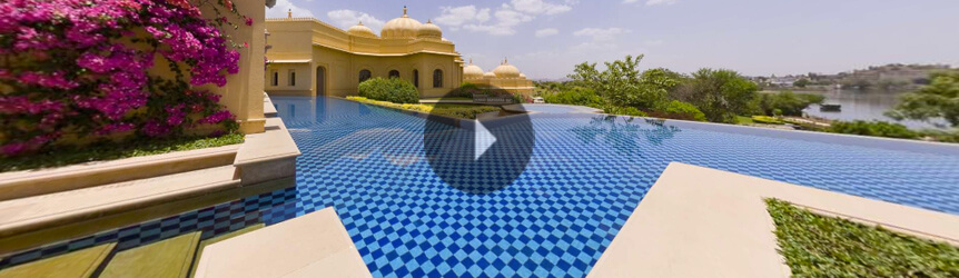 Premier Hotel Room With Semi Private Pool The Oberoi Udaivilas - Rooms with pools