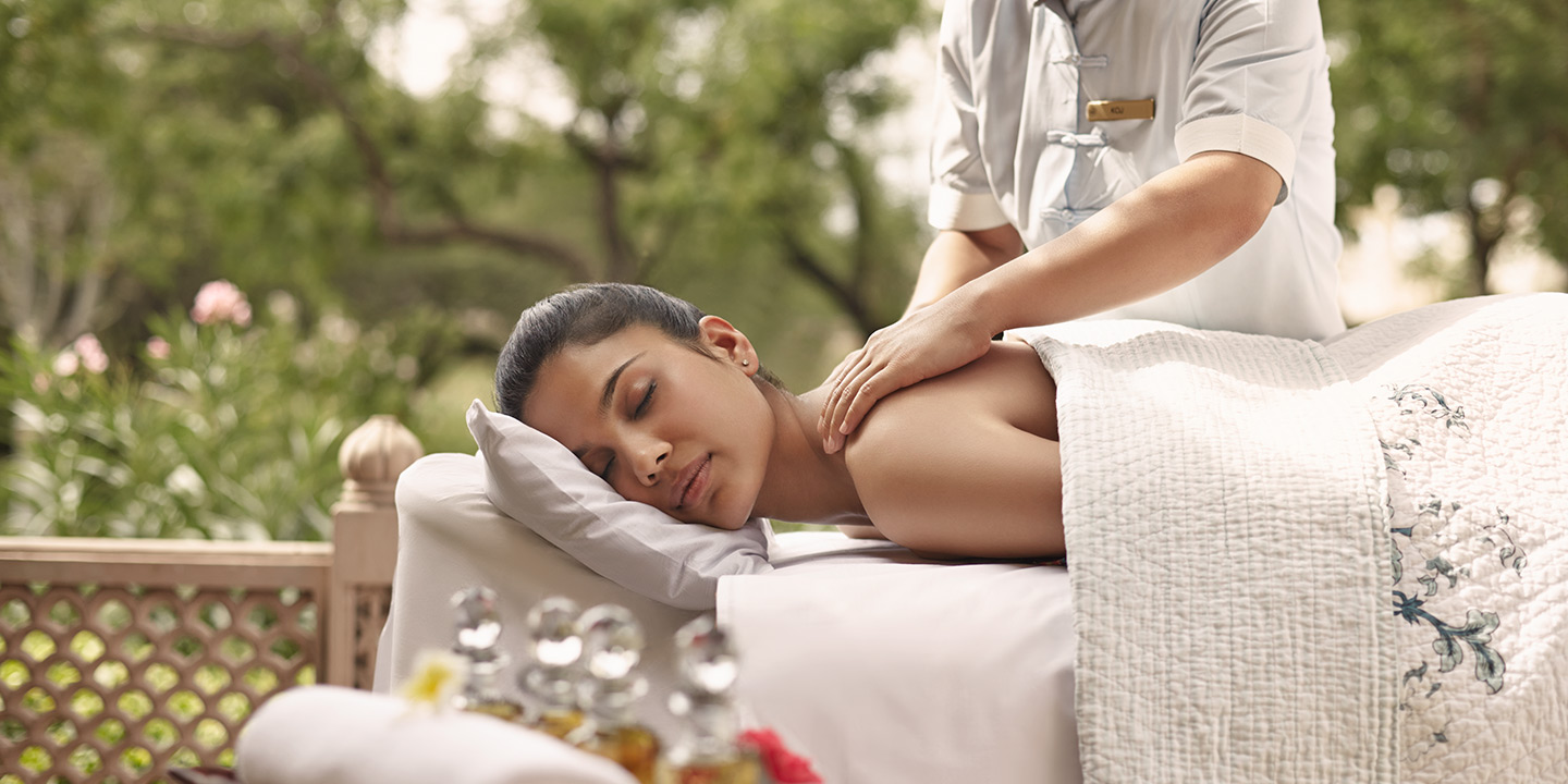 Therapies, Massages & Treatments - Spa at The Oberoi Udaivilas, Udaipur