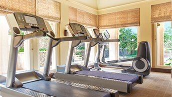 Gym, Volleyball or Croquet - Fitness Facility at The Oberoi Udaivilas, Udaipur